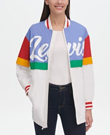 Levi's® Graphic Colorblocked Windbreaker