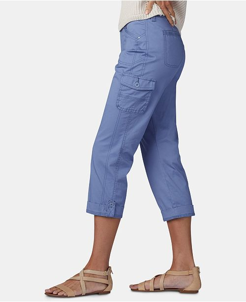 cce3e95c4a841 Lee Platinum Petite Cropped Cargo Pants   Reviews - Pants   Capris ...