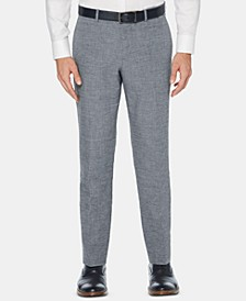 Men's Slim-Fit End-On-End Suit Pants