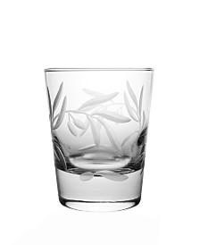 Rolf Glass Olive Dof 13Oz - Set Of 4