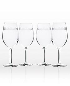 Cast Of Crabs All Purpose Wine 18Oz - Set Of 4 Glasses