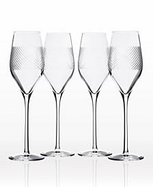 Bourbon Street Champagne Flute 9.25Oz - Set Of 4