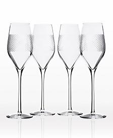 Rolf Glass Bourbon Street Champagne Flute 9.25Oz - Set Of 4