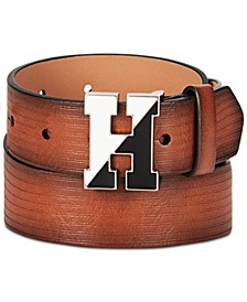 Big Boys Embossed Logo Belt