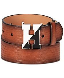 Tommy Hilfiger Big Boys Embossed Logo Belt