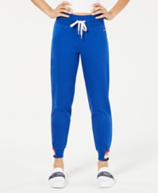Tommy Hilfiger Sport Strappy-Hem Jogger Pants, Created for Macy's