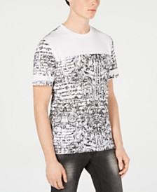 I.N.C. Men's Mesh Baroque Graphic T-Shirt, Created for Macy's