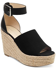 Marc Fisher Cala Platform Wedge Sandals