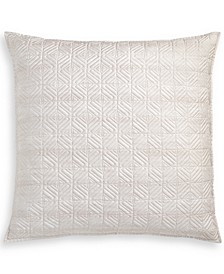 "CLOSEOUT! Woodrose Quilted 26"" x 26"" European Sham, Created for Macy's"