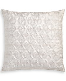Hotel Collection Woodrose 300-Thread Count Quilted King Sham, Created for Macy's