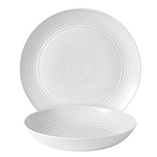 Royal Doulton Exclusively for Maze White 2-Piece Serving Set
