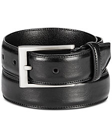 Alfani Men's Embossed Faux-Leather Belt, Created for Macys