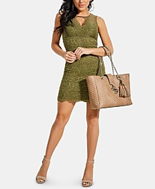 GUESS Kason Lace Bodycon Dress