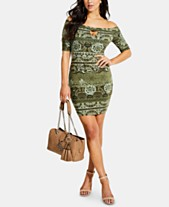 1d7f4db13a8f GUESS Tanlee Off-The-Shoulder Bodycon Dress