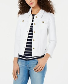 Tommy Hilfiger Cropped Denim Jacket