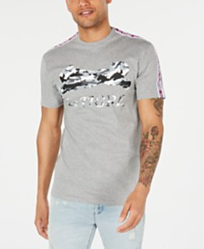 Le Tigre Camouflage Logo T-Shirt