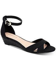 Charter Club Gippi Wedge Sandals, Created for Macy's