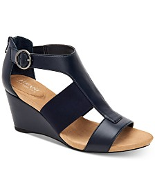 Alfani Pearcee Dress Wedge Sandals, Created for Macy's