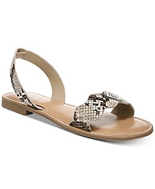 Bar III Leena Flat Sandals, Created for Macy's
