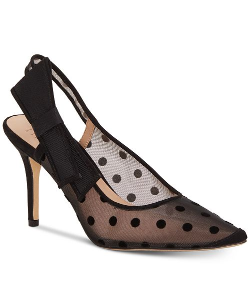 INC International Concepts I.N.C. Women's Coletta Slingback Pointed Toe Pumps, Created for Macy's