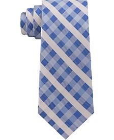 Tommy Hilfiger Men's Vermont Classic Plaid Silk Tie