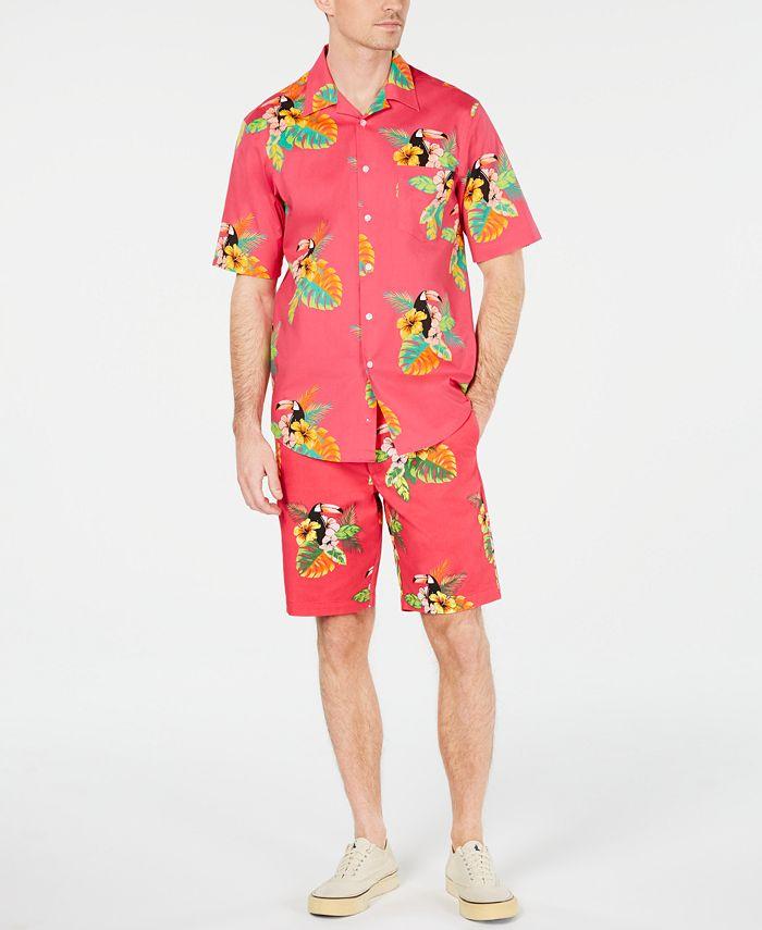 Club Room - Men's Tropical Print Shirt
