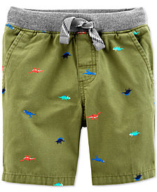 Carter's Little & Big Boys Dino Cotton Shorts
