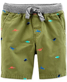Carter's Little & Big Boys Dino Cotton Shorts