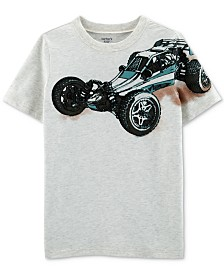 Carter's Little & Big Boys Dune Buggy-Print Cotton T-Shirt
