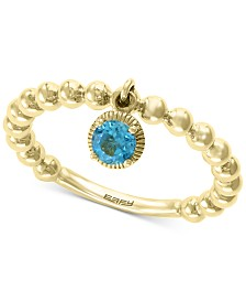 EFFY® Blue Topaz Ring (1/5 ct. t.w.) in 14k Gold