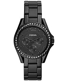 Women's Riley Black Stainless Steel Bracelet Watch 38mm