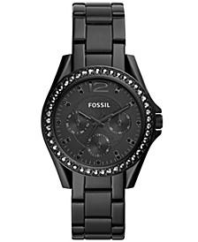 Women's Riley Black Stainless Steel Bracelet Watch 38mm
