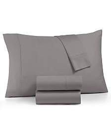 AQ Textile Optimal Performance Stay fit 4-Pc California King Sheet Set, 625 Thread Count Cotton Blend