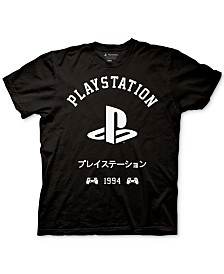 Playstation Kanji Men's Graphic T-Shirt