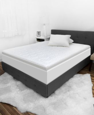 "Luxury iCOOL 3"" Gel-Infused Memory Foam Twin Mattress Topper"