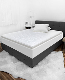 "SensorGel® Luxury iCOOL 3"" Gel-Infused Memory Foam Mattress Toppers"