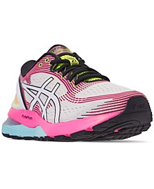 Women's GEL-Nimbus 21 Optimism Running Sneakers from Finish Line