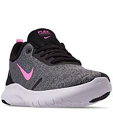 Nike Women's Flex Experience Run 8 Wide Width Running Sneakers from Finish Line