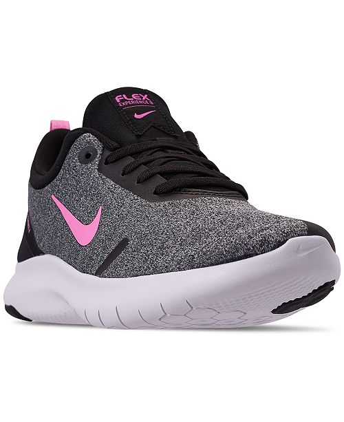 b4c80c3d82ef ... Nike Women s Flex Experience Run 8 Wide Width Running Sneakers from  Finish ...