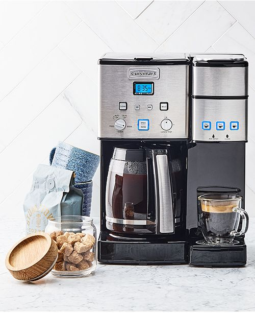 Cuisinart SS-15 Combo Coffee Maker & Reviews - Coffee Makers - Kitchen -  Macy's