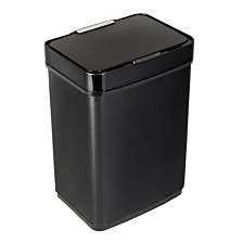 Honey Can Do 50L Stainless Steel Trash Can with Motion Sensor