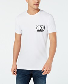 Calvin Klein Jeans Men's Slim-Fit Logo Graphic  T-Shirt