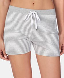 Lauren Ralph Lauren Striped Knit Boxer Pajama Shorts
