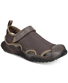 Crocs Men's Swiftwater Mesh Deck Sandals