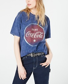True Vintage Cotton Coca-Cola Graphic T-Shirt