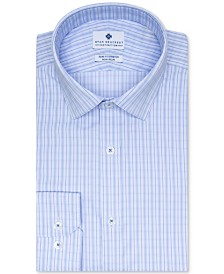 Ryan Seacrest Distinction Men's Check Dress Shirt