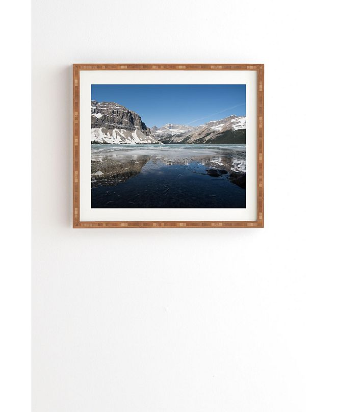 Deny Designs Bow Lake Framed Wall Art