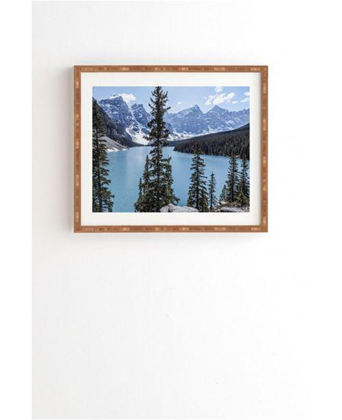 Deny Designs Lake Moraine Framed Wall Art