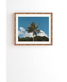 Deny Designs Hawaiian Palm Framed Wall Art