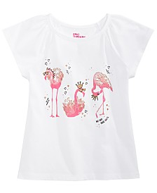 Epic Threads Little Girls Flamingo T-Shirt, Created for Macy's